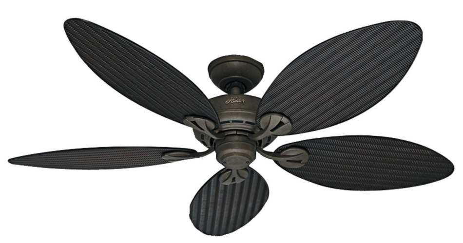 Palm ceiling fans every ceiling fans hunter 54098 bayview 54 inch etl damp listed provencal gold ceiling fan with five mozeypictures Gallery