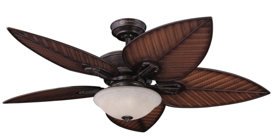 Tropical Ceiling Fans : Palm ceiling fans every