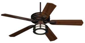 "Casa Vieja Outdoor 52"" Mission Damp Listed Ceiling Fan"