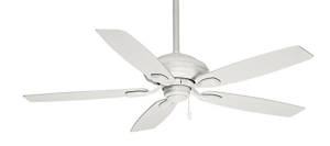 Casablanca 54037, Utopian Snow White Energy Star 52%22 Outdoor Ceiling Fan