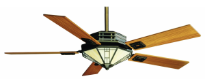 Casablanca Mission Ceiling Fan with Inteli-Touch Control, Bronze Patina