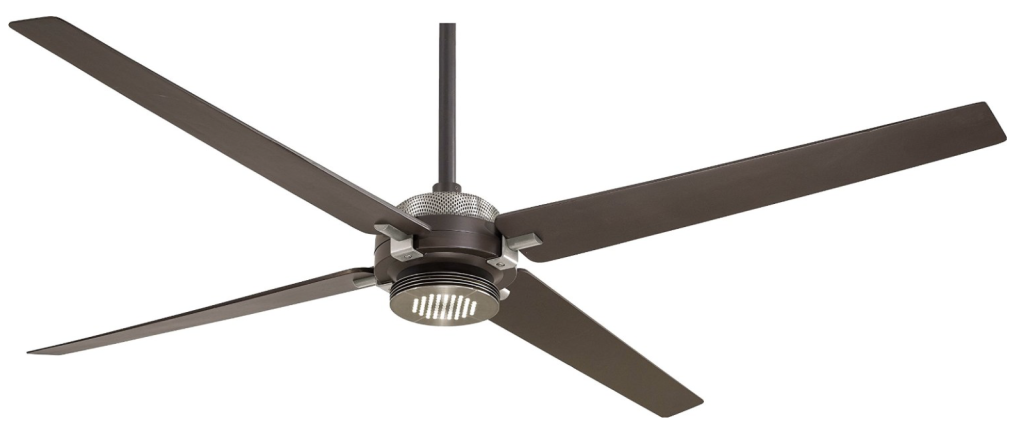 Minka-Aire F726-ORB:BN, Spectre Oil-Rubbed Bronze 60%22 Ceiling Fan w: Light - Remote Control