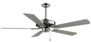 Minka-Aire F556-BN, Contractor Plus Brushed Nickel Energy Star 52 Inch Ceiling Fan