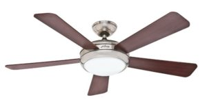 Hunter Palermo 52-Inch Energy Star Brushed Nickel Ceiling Fan